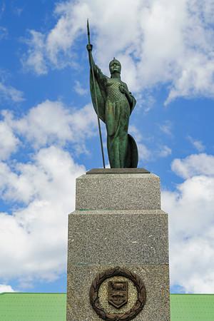 Monument to Royal Marines Falklands Copyright 2020 Steve Leimberg UnSeenImages Com _DSC1602