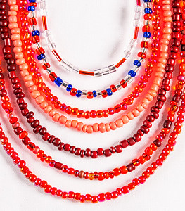 Red Beads Copyright 2021 Steve Leimberg UnSeenImages Com _DSF0897