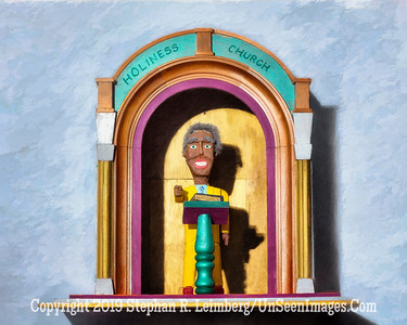 Holiness Church Preacher PAINTING - Copyright 2016 Steve Leimberg - UnSeenImages Com _Z2A8038