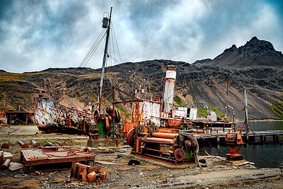 Grytviken Whaling Station Ship Copyright 2020 Steve Leimberg UnSeenImages Com _DSF0303