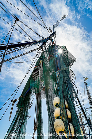Shrimp Boat Fish Nets - Copyright 2018 Steve Leimberg UnSeenImages Com A6I9512