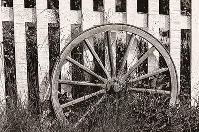 Wheel in Front of Home - Copyright 2020 Steve Leimberg UnSeenImages Com _DSC0866