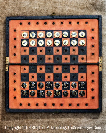Peggy Bolger's Chess Board - PAINTING - Copyright 2016 Steve Leimberg - UnSeenImages Com _Z2A8019