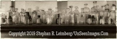 The beauty of bottles - B&W Copyright 2016 Steve Leimberg - UnSeenImages Com _Z2A8071