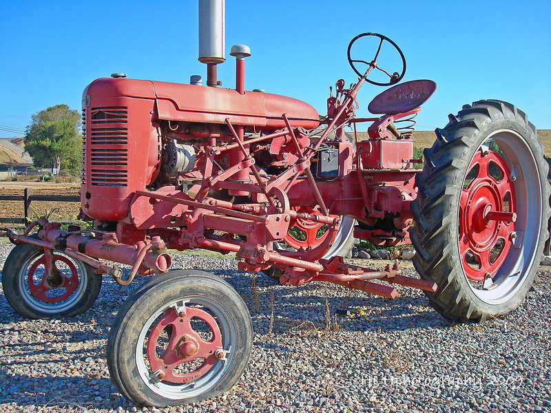 Tractor seen near Carbon Cyn Pk