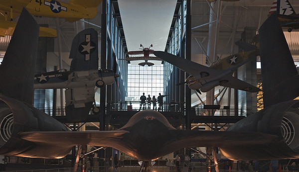 In Steven F. Udvar-Hazy aviation museum