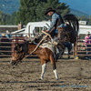 Another good ride, bronc riding