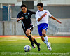 """Alright, I can't resist -- This picture screams for a caption, """"Poetry in Motion,"""" or maybe, """"Synchronized Soccer."""" Please suggest your own best caption below in the comments!<br /> 130126 Sood JV Tourney Finals vs Connally--61"""
