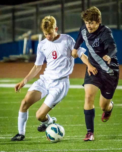 20140121 Boys Varsity Soccer vs Vandegrift-63