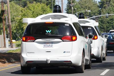 Waymo - Chrysler Self Driving Minivan