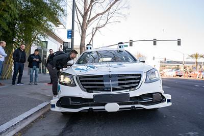 Mercedes Self Driving Test Vehicle