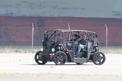 Zoox Self Driving Vehicle Prototype