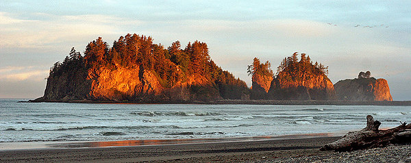 La Push beach - Fall 2005
