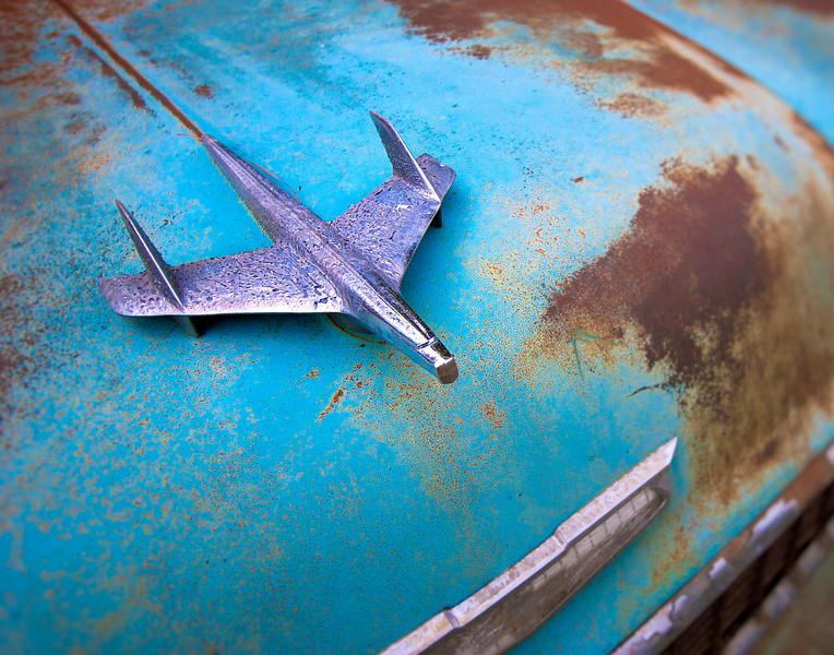 Blue Car 11 x 14