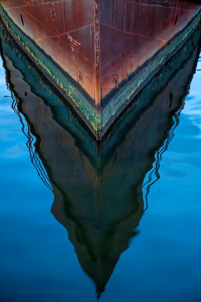 Sunken Boat - Baltimore