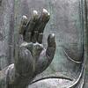 Right hand of Buddha