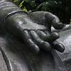 Left hand of Buddha