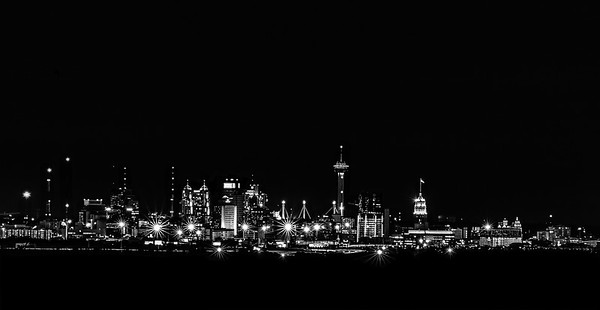 San Antonio Skyline at Night V2