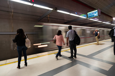 Los Angeles Metro Station