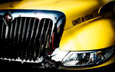 Jerrys Service Truck Yellow Glow