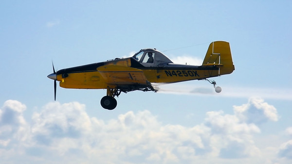 crop duster left side
