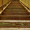 Steps, leading up to Shoreline Park, Santa Barbara, CA