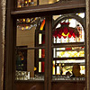 window shot...<br /> <br /> looking through the window next to our booth, while waiting to be served, best viewed in larger sizes...<br /> <br /> Spaghetti Factory<br /> Fullerton, CA