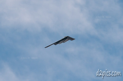 B-2 Stealth Bomber over Highlands Ranch