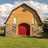 """The Barn"" near Monticello, Indiana."