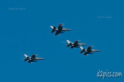 F-16Cs over Denver
