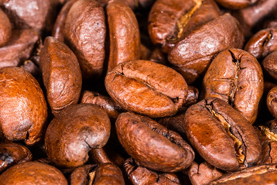 Dry Roasted Coffee Beans