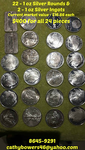 SILVER ROUNDS & SILVER INGOTS