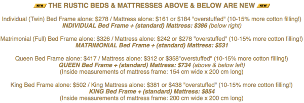 COTTON MATTRESSES & FUTON MATTRESSES & SOLID WOOD BED FRAMES & NIKKEN Magnetic & Water products