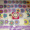 "Circular Mandala Cards ""The Cosmic Deck of Initiation"" by Barbara DeLong (BEAUTIFUL & VERY POSITIVE) =  $15 - 8,500"