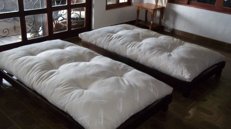 """100% COTTON MATTRESSES - FUTON MATTRESSES - SOLID WOOD BED & FUTON FRAMES - Custom-made in Costa Rica plus NIKKEN Magnetic & Water products<br /> <br /> Below are a few Natural Bedding Items and/or Holistic Tools!:<br /> •  100% Cotton Mattresses  •  <br /> •  Futon Mattresses  •  <br /> •  Cotton Pillows  •  <br /> •  Kenko Naturest Mattress Topper  •  <br /> •  Dream Pillow  •<br /> •  Hand-made, Chilean Pine Bed Frames  •<br /> •  Counter Top Electric Hot/Cold Water Dispenser<br /> <br /> @@@@@@@@@@@@@@@@@@@@@@@@@@@@@@@@@<br /> <br /> Tired of the MEGA uncomfortable beds in Costa Rica?  Do you have a bad back and need some firmness?  Or allergies or your body just can not handle fake/synthetic materials?  Have you tried many beds and some were too hard, or too soft - and you just want one that is """"just right"""" for YOUR body????  Or do you just want to honor your body and sleep with natural fibers?  Then a 100% COTTON MATTRESS might be the PERFECT thing for you!  (they also have 100% cotton pillows)<br /> <br /> WHY CHOOSE A COTTON MATTRESS?<br /> <br /> DO YOU LIVE IN A HOT/HUMID CLIMATE OR ARE YOU GOING THROUGH MENOPAUSE AND GETTING HOT FLASHES?  <br />     Cotton is known to breathe which helps eliminate moisture retention and allows the mattress to remain dry or to dry quickly thus avoiding mold or mildew.   (as a Memory Foam fan - note that they get you HOT [I couldn't even have sex in my old full memory foam bed!!!])<br />      One of the TOP REASONS I've heard is the metal coil that is in many standards beds - the metal coils can AMP UP the energy/vibration if you have High Blood Pressure, Pain or Arthritis!!!  (which is logical if you think of it) <br />     I have a resource to connect you with for 100% COTTON, Hand-Stuffed, Semi-Orthopedic (which means FIRM) MATTRESSES!!  <br />     Since they're hand-stuffed, that means the fabric and the size can be CUSTOMIZED for whatever YOU need!!!<br /> <br /> <br /> ≈≈≈≈≈≈≈≈≈≈≈≈≈≈≈≈≈≈≈≈≈≈≈≈≈<br /> <br /> TWIN (in C"""