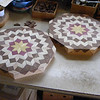 Carpenters Wheel Lazy Susan's in Process.<br /> To me, the design on these always gives the illusion of being more round than they are.
