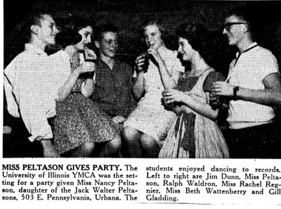 Peltason YMCA Party