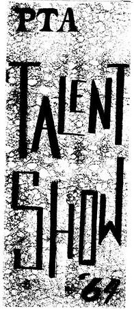 PTA Talent Show 1964