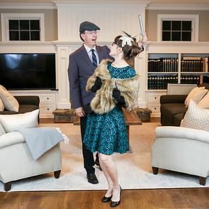 Mrs. Peacock & Professor Plum