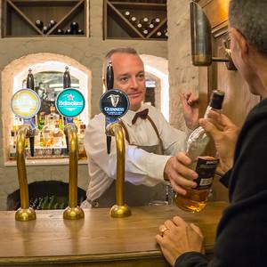 Irish bartender