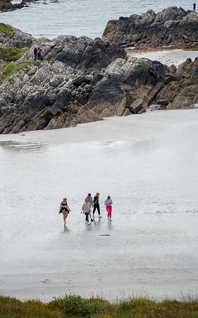 A day at the Irish seashore