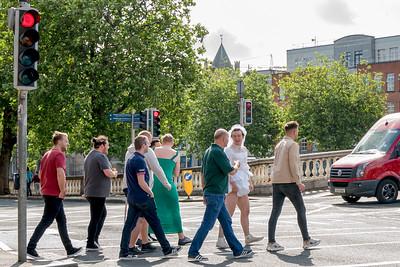 Dublin bridal party