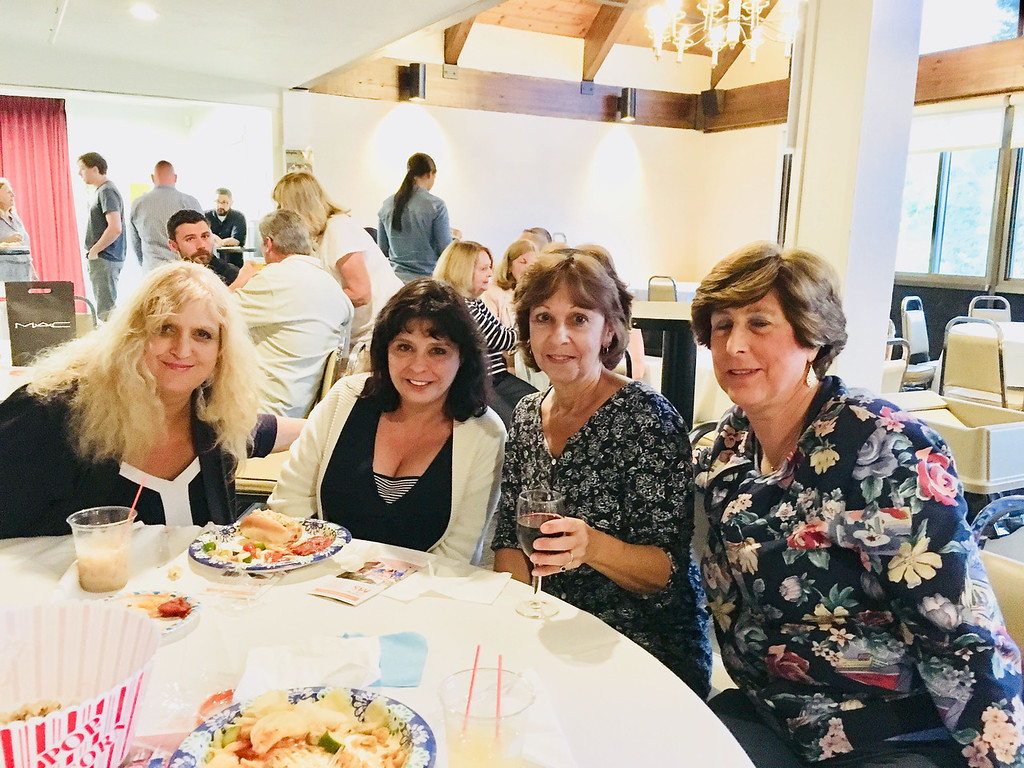 . From left, Deb Martin of Haverhill, Maureen Kaminski of Billerica, Rhonda Pare of Chelmsford and Diane Butterworth of Billerica