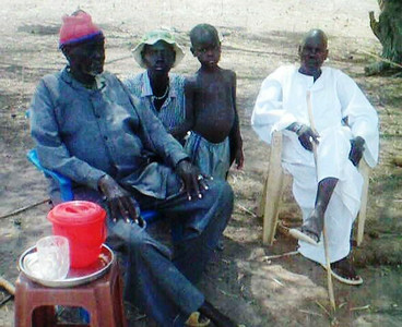 The elders agreed to build a temporary school while funds are still being raised for permanent classrooms.