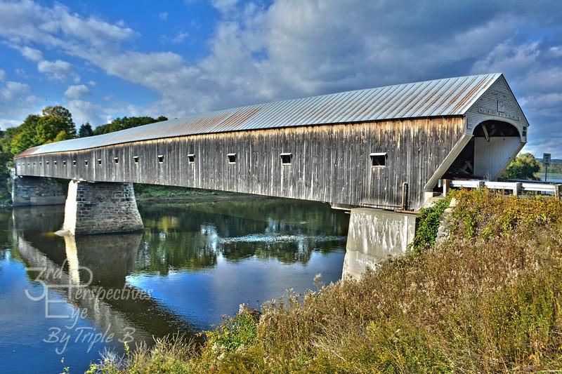 Historic Connection - Vermont, New Hampshire Border - USA