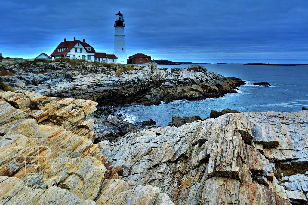 Portland Head Leap - Portland Head Lighthouse, Maine - USA