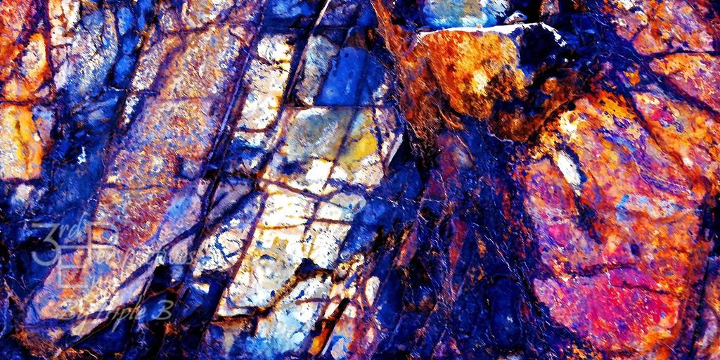Rocky Color Explosion
