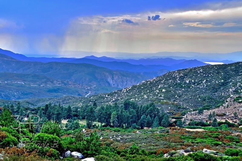 Rain Over Diamond Valley