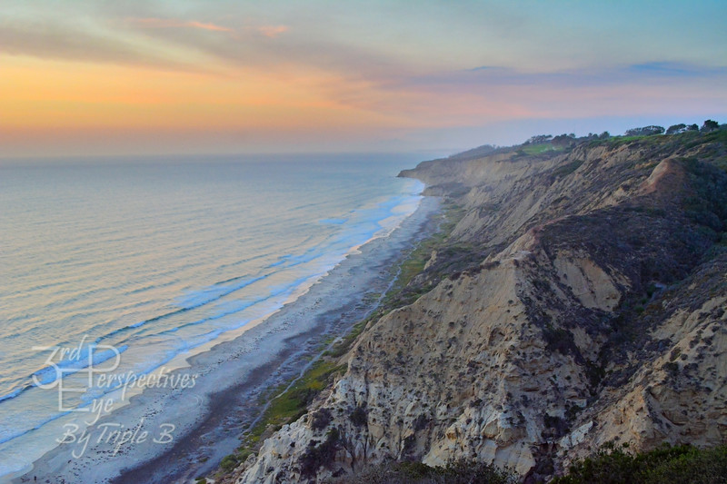 Cotton Candy Cliffs - Torrey Pines, California - USA