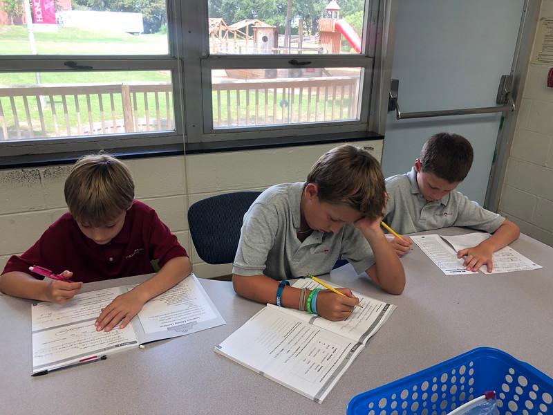 Working on our grammar.